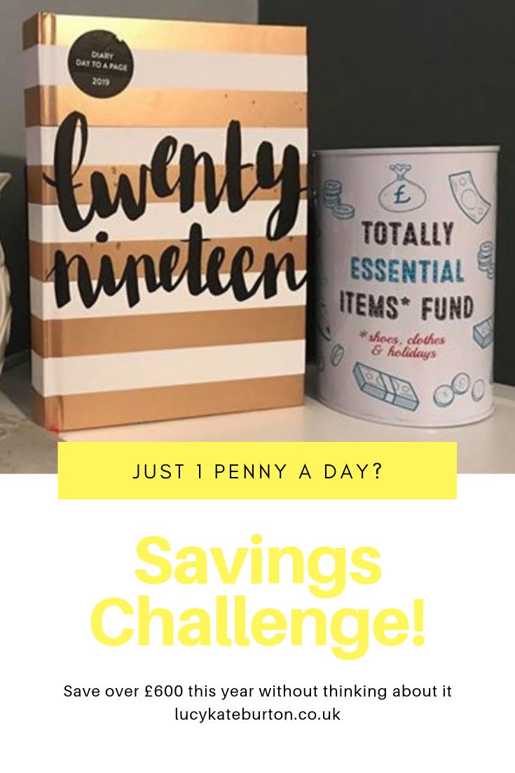 2019 Savings Challenge Money Bank